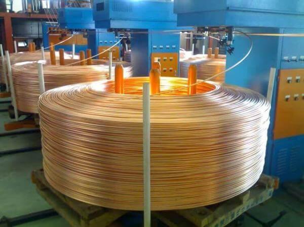 upward continuous casting machine